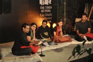 Mantonama@Kalaghoda -L-R- Priya, Suhail, Arwa, Asad